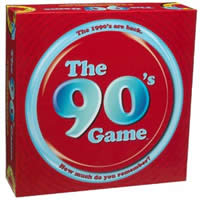 The 90's Game Board Game