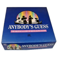 Anybody's Guess Board Game