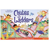 Chutes and Ladders Children's Game