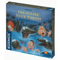 Crocodile Pool Party Board Game