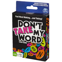 Don't Take My Word Game