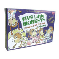 Five Little Monkeys Children's Game