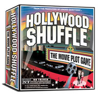 Hollywood Shuffle Board Game