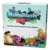 NumRush Board Game