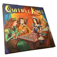 Queens & Kings Board Game