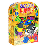 Raccoon Rumpus Children's Game