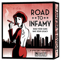 Road To Infamy Board Game