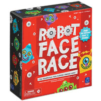 Robot Face Race Children's Game