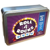 Roll 4 Rocks Game