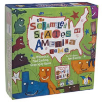 Scrambled States of America Board Game
