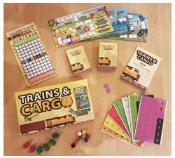 Trains and Cargo Game