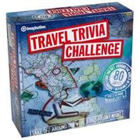 Travel Trivia Challenge Board Game