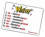 Whew Rules and Instructions