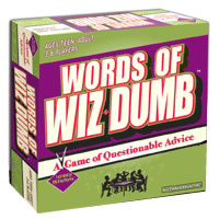 Words Of Wiz Dumb Board Game