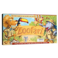 Zoofari Board Game